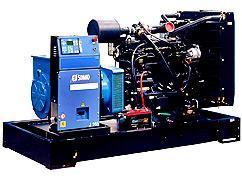 Diesel Genset Open Skid Mounted - Commercial Power Generators - TMR Sales & Service