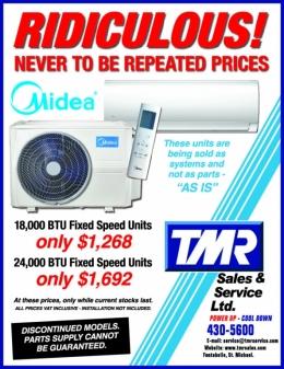 18,000 BTU & 24,000 BTU Fix Speed Units For Sale