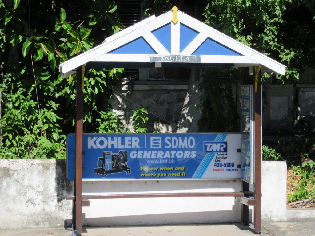 TMR Sales and Service Adopt A Stop - Bus Stop