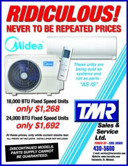 18,000 BTU & 24,000 BTU Fix Speed Units For Sale